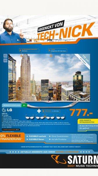 [LOKAL] LG 47LA6928 + 4x 3D Brillen @ Saturn Leverkusen