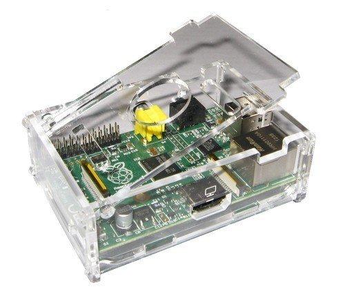 Raspberry Pi Gehäuse gelasert - Plexiglas Case (Klar)