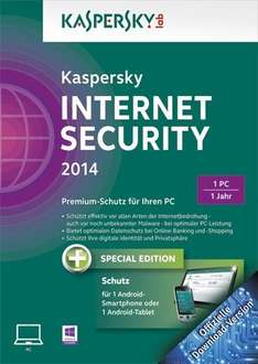 Cyber Monday, Deal des Tages: Kaspersky Internet Security 2014 + Android Security
