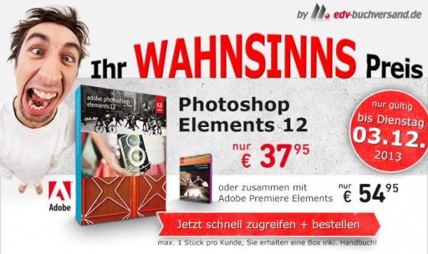 Adobe Photoshop & Premiere Elements 12 (PC/MAC)