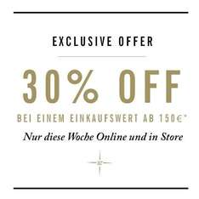 30% Rabatt bei einem Einkaufswert ab 150 Euro bei Ben Sherman (online und offline)