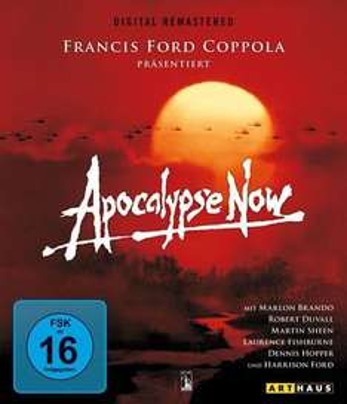 Blu-ray: Apocalypse Now (Kinofassung & Redux) - Digital Remastered @buch.de: 6,28€ inkl. Versand