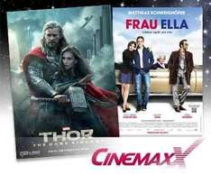 5 CinemaxX KIno-Tickets für 37,50€ @Dailydeal