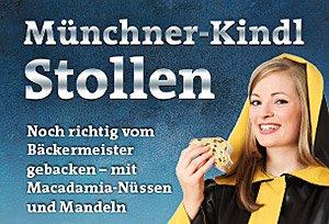 [lokal München] - Kostenlos am 6.12. Stollen probieren