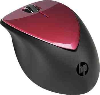 HP x4000 Drahtlose Maus (Rubinrot) mit Laser-Sensor für 12,59€ @HP
