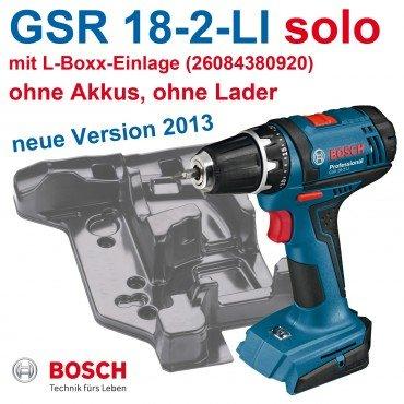 Bosch GSR 18-2-Li Professional Akkuschrauber (0 601 9B7 302) (Solo) (-37%) [eBay www_werkzeugalarm_de]
