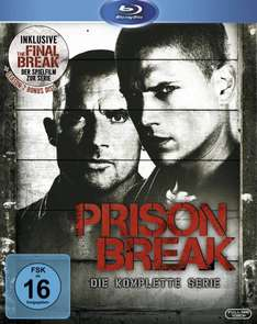 Cyber Monday Amazon.de Prison Break komplette Serie Blu Ray 39,97 €