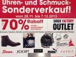 Uhren- und Schmuck-Sonderverkauf in Weiterstadt  / JOOP / PUMA / ESPRIT / SIOUX