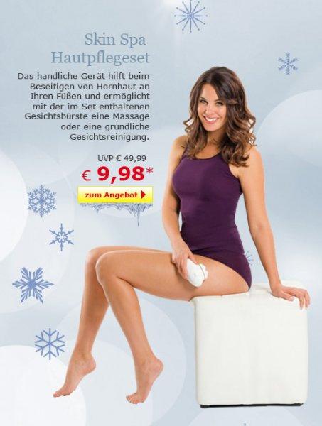 TV - Unser Original Skin Spa Hautpflegeset für 9,98 € bei Netto-Online + Versand