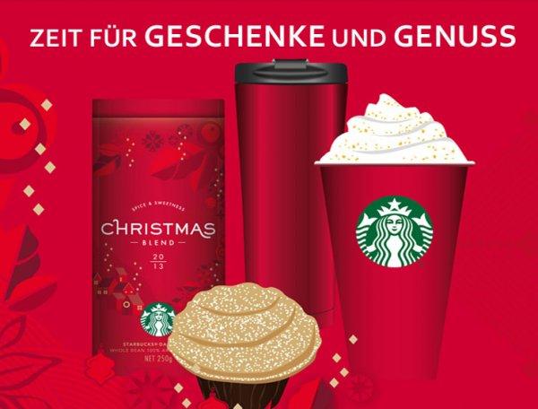 Starbucks: verschiedene Angebote vom 25.11 - 24.12