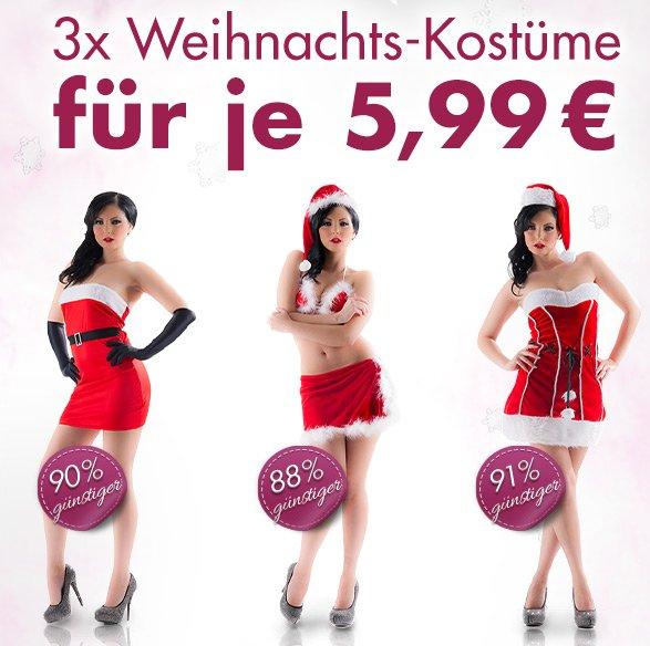 1 von 3 Weihnachtskostümen für 5,99€ + VSK @eis.de