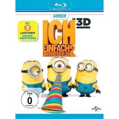 [Conrad.de - Black Friday] 3D Blu-ray Ich einfach unverbesserlich 2 (+ 2D Blu-ray) FSK 3D Film