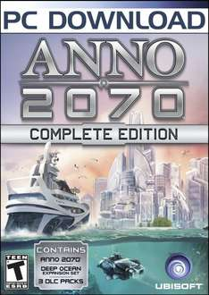 [Amazon.com][Uplay] Anno 2070 Complete 9,20 Euro