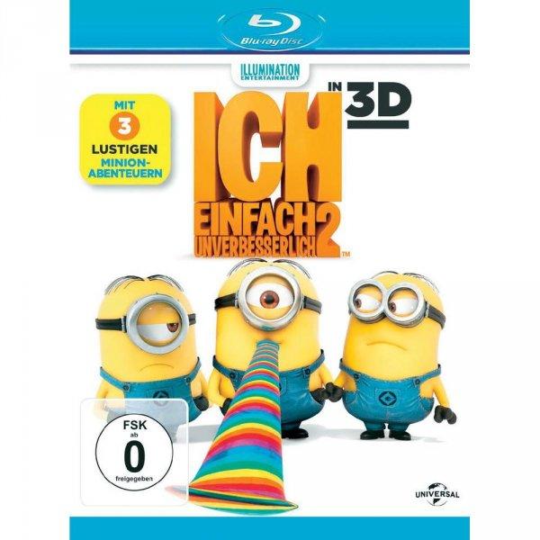 2 mal 3D Blu-ray Ich einfach unverbesserlich 2 (+ 2D Blu-ray)