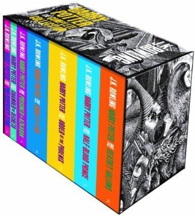 [Amazon UK] Complete Harry Potter (alle 7 Bücher auf Englisch)