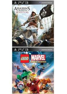[Amazon.com Digitale Downloads / teilweise PS4 Upgrade möglich ] Assassin's Creed IV Blackflag (PS3) für 25 € / Battlefield 4 (PS3) für 25,73 € / Call of Duty Ghosts (PS3) für 29,41 € / The Last of US (PS3) für 25,75 € u.v.m.