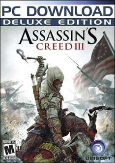 Assassins Creed III: Deluxe Edition (Steam) für 11€ @Amazon.com