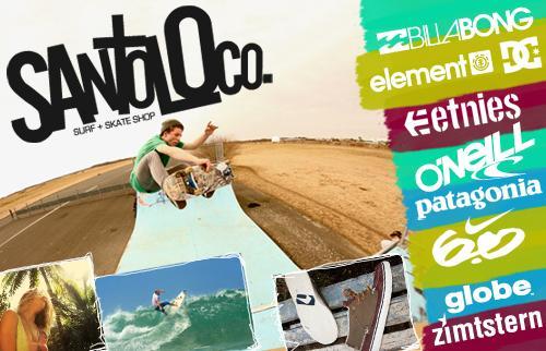 Skate und SurfShop SantoLoco 9.99€ statt 25€