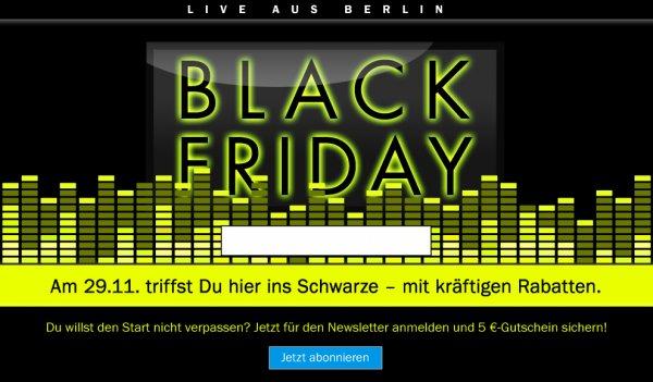 Teufel Black Friday, bis zu 40%! z.B. iTeufel Air statt 499€ für 299€ ...