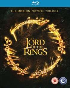 Lord of the Rings Trilogy - Theatrical Edition Slim Box Blu-Ray bei Zavvi für 9,56€ / mit 11% GS 8,51€