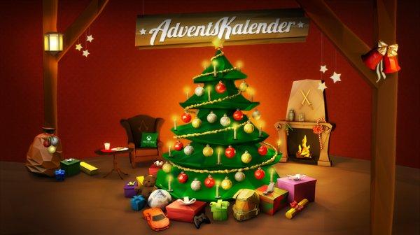 XboX  Adventskalender ab 01.12.2013