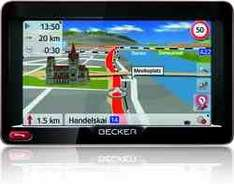 Becker Ready 50 EU20 LMU Navigation für 115€ @autoradio.eu