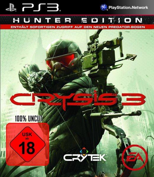 [PC/XBOX360/PS3] Crysis 3 (100% UNCUT) für 10€ @ Saturn.de (bei Abholung) ansonsten + 4,99€ Versand.