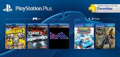 [PS3 | PS Vita]Playstation Plus Dezember Instant Games (US PSN)
