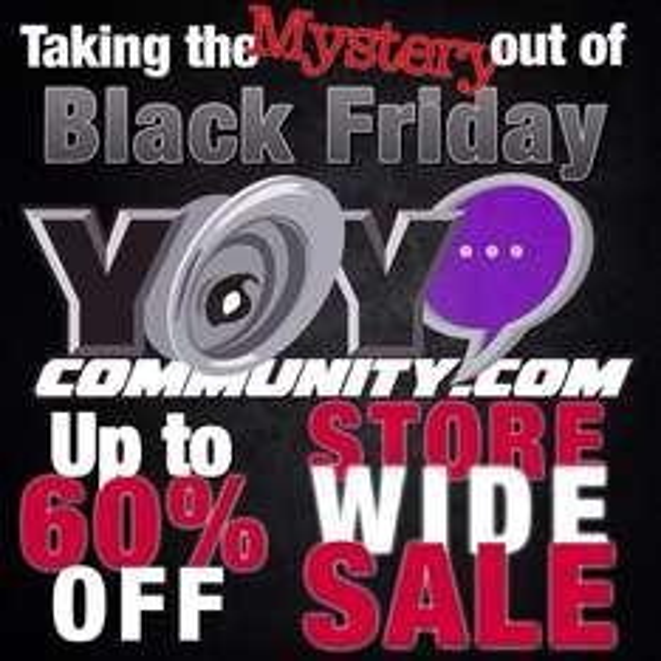 [USA] bis zu 60% auf ausgewählte Yoyos bei YoyoCommunity ( Black Friday )