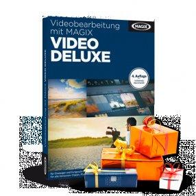 MAGIX Video deluxe 2014 Plus +Schnitttastatur +Soundeffekte&-tracks +Lernbuch für 94€