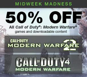 Steam: Modern Warfare Sale -50 %
