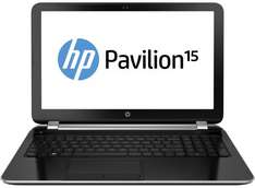 "15,6 "" HP Pavilion 15-n005sg mit Intel Haswell I5 fuer 399€"