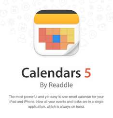 [iOS] Readdle Apps -50%, zB Calendars 5 - Der Intelligente Kalender