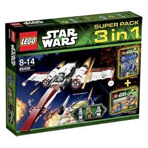 [REAL] OFFLINE mit 10% Coupon auf Spielwaren + Rabattkauf 19% Star Wars 66456 Superpack 3in1 [- 27%] 58,28€