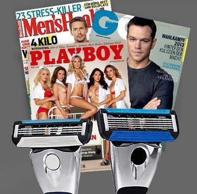 Morning Glory 1 Monat Abo + 3 Ausgaben von (GQ,PLayboy,Mens Health) für 6€