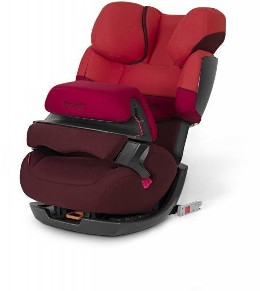 Cybex 512110002 Pallas-Fix Autositz Gruppe I, II, III, chilli pepper red