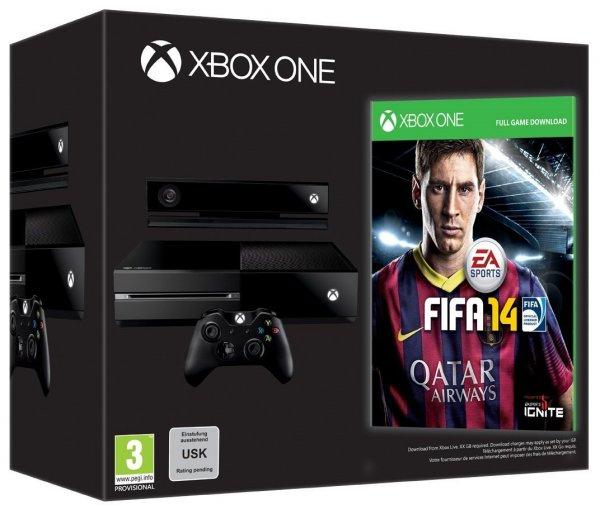 Amazon.de: Xbox One Day One Edition inkl. Fifa 14 - wieder verfügbar!