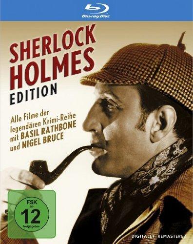 [Buch.de] Sherlock Holmes Edition (7 Blu-rays) o. Vsk für 45,90 €