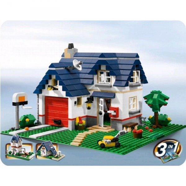 LEGO CREATOR Haus mit Garage 539-teilig 5891 bei Spar-Toys für 33,49 Euro