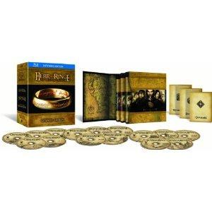 Der Herr der Ringe - Die Spielfilm Trilogie (Ext. Ed.) Blu-Ray