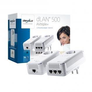 Devolo dLAN 500 AVtriple+ Starter Kit für 79€ @redcoon