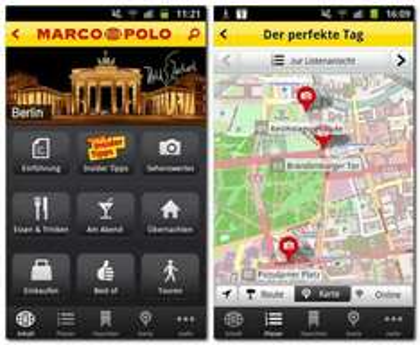 Aktueller Berlin Reiseführer kostenlos als Tagesaktion in der Marco Polo App (Android & iOS)