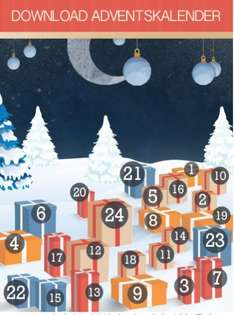Chip download Adventskalender 1.12. - 24.12 ab jeweils 0 UHR  1.12. Cyberghost VPN