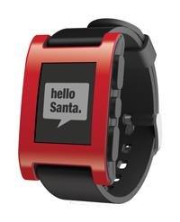 """Pebble """"Black Saturday"""": Pebble Smartwatch in Schwarz, Rot oder Weiß für $130 (u.U. $125) inkl VSK (statt $150)"""