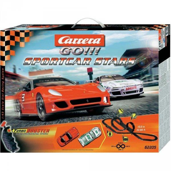 Carrera 62205 Carrera Go!!! Sportcar Stars Rennbahn für 62,45€ @Conrad
