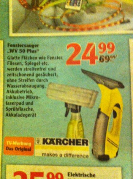 Kärcher Fenstersauger WV 50 Plus 24,99 € Globus Hattersheim bei Frankfurt am Main