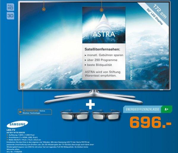 Samsung UE50F6170 SSXZG 696€ Lokal Tagesangebot[Saturn Marl]