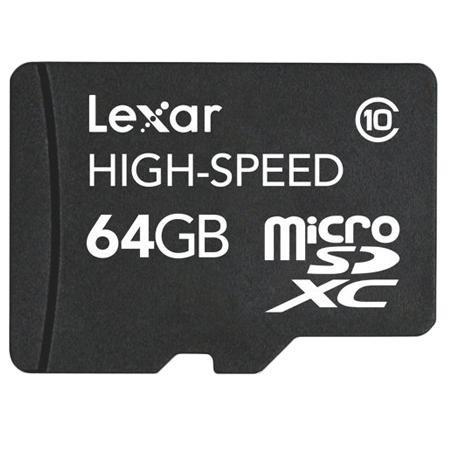 [Media Markt Online] LEXAR 64GB Class 10 microSDXC Speicherkarte | VSK-frei 39€