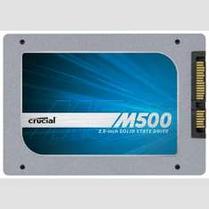 Cru­cial M500 - Solid-State-Disk - 480 GB nur 222,- Euro inkl. Versand