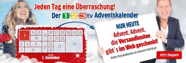 Heute Versandkostenfreiheit bei 1-2-3.tv, qvc.de, HSE24 (bei App-Bestellung) und Tom Tailor (TT mit 3 für 2, günstigster Artikel umsonst)